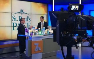 NBC7 San Diego features St. Paul's Essential Needs Drive (SPEND)