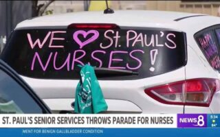 St. Paul's Senior Services Throws Parade for Nurses