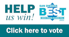 San Diego's Best 2021 Vote